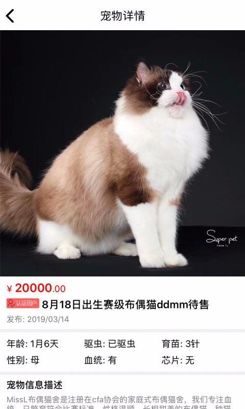 猫行狗市app最新版v4.0截图0