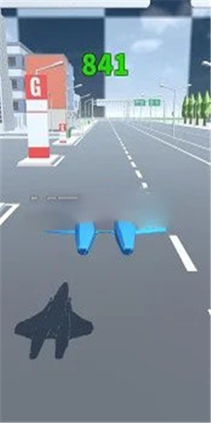 飞机漂流器手游版1.0截图1