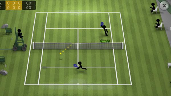 火柴人网球游戏最新版v2.0截图1