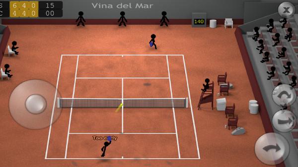 火柴人网球游戏最新版v2.0截图3