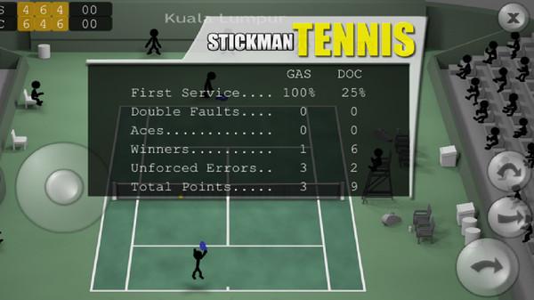 火柴人网球游戏最新版v2.0截图0