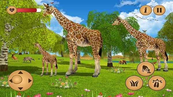 长颈鹿丛林生活模拟器安卓中文版1.0截图3