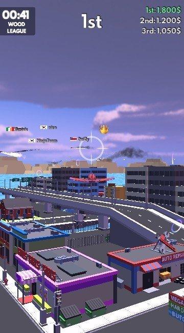 空战吃鸡游戏无限金币破解版1.3.1截图3