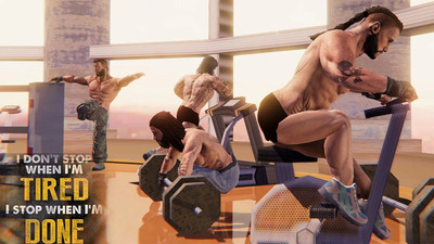 健美运动员抗击挑战安卓版