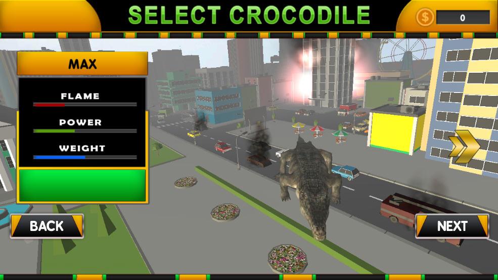 鳄鱼城市攻击模拟官方版