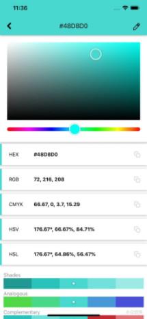 HueSnap调色板app1.0.1截图1