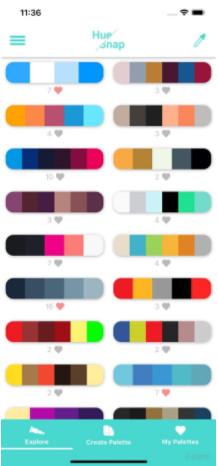 HueSnap调色板app1.0.1截图2