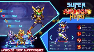 超级英雄装甲手游v1.0.1截图2