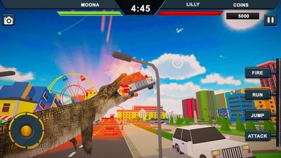 鳄鱼城市攻击模拟官方版v1.0截图0