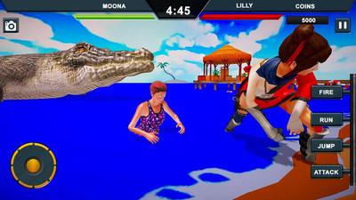 鳄鱼城市攻击模拟官方版v1.0截图2