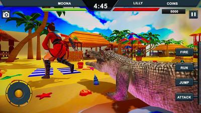 鳄鱼城市攻击模拟官方版v1.0截图1