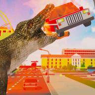 鳄鱼城市攻击模拟官方版v1.0