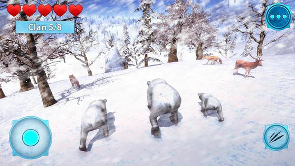 北极熊生存模拟器官方版1.0截图0