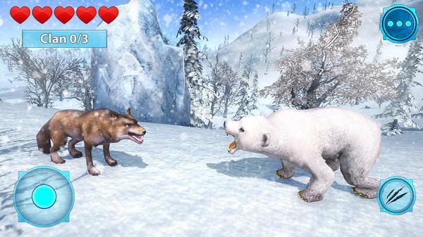 北极熊生存模拟器官方版1.0截图1