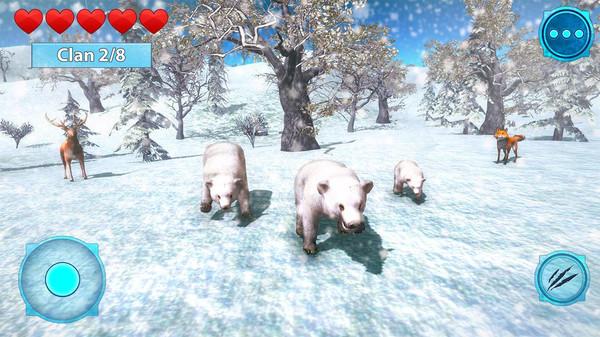 北极熊生存模拟器官方版1.0截图2