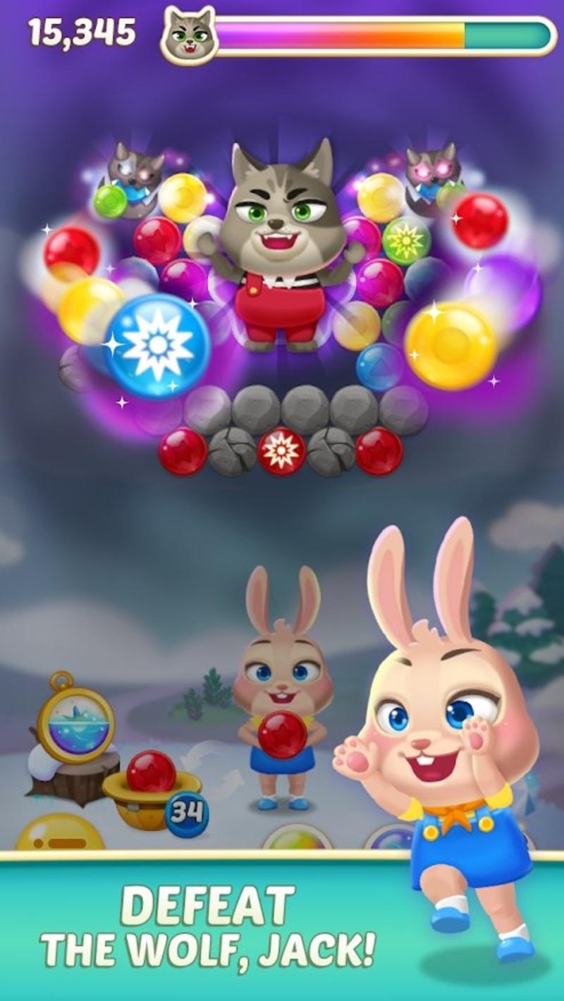 兔子泡泡龙2安卓版1.3.3截图1