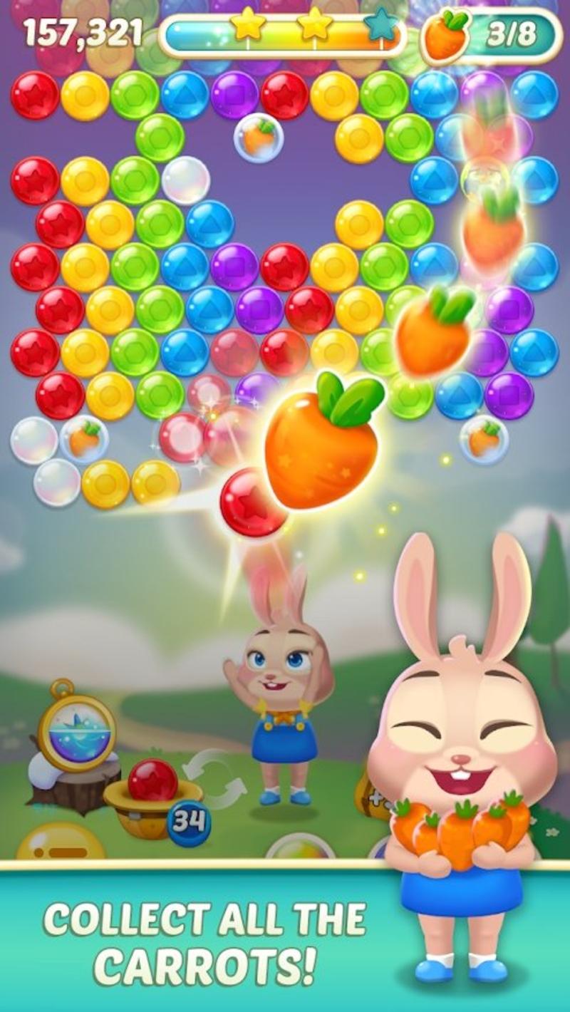 兔子泡泡龙2安卓版1.3.3截图2
