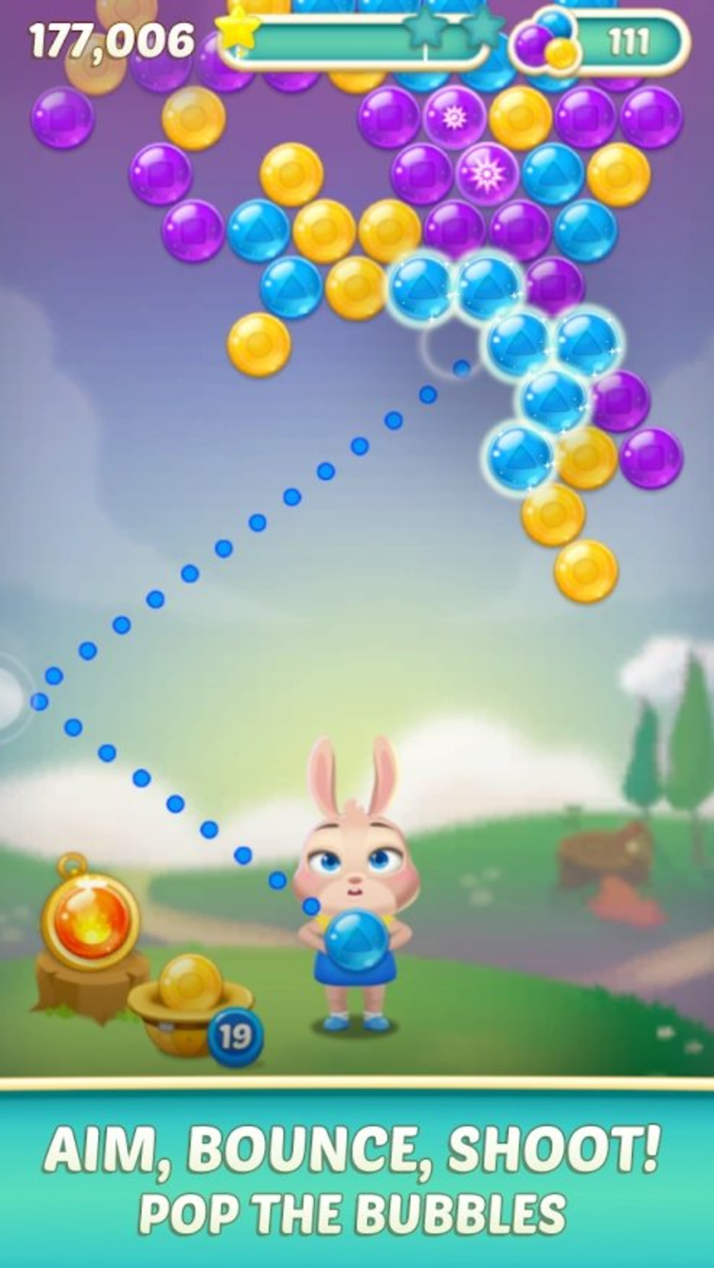 兔子泡泡龙2安卓版1.3.3截图3
