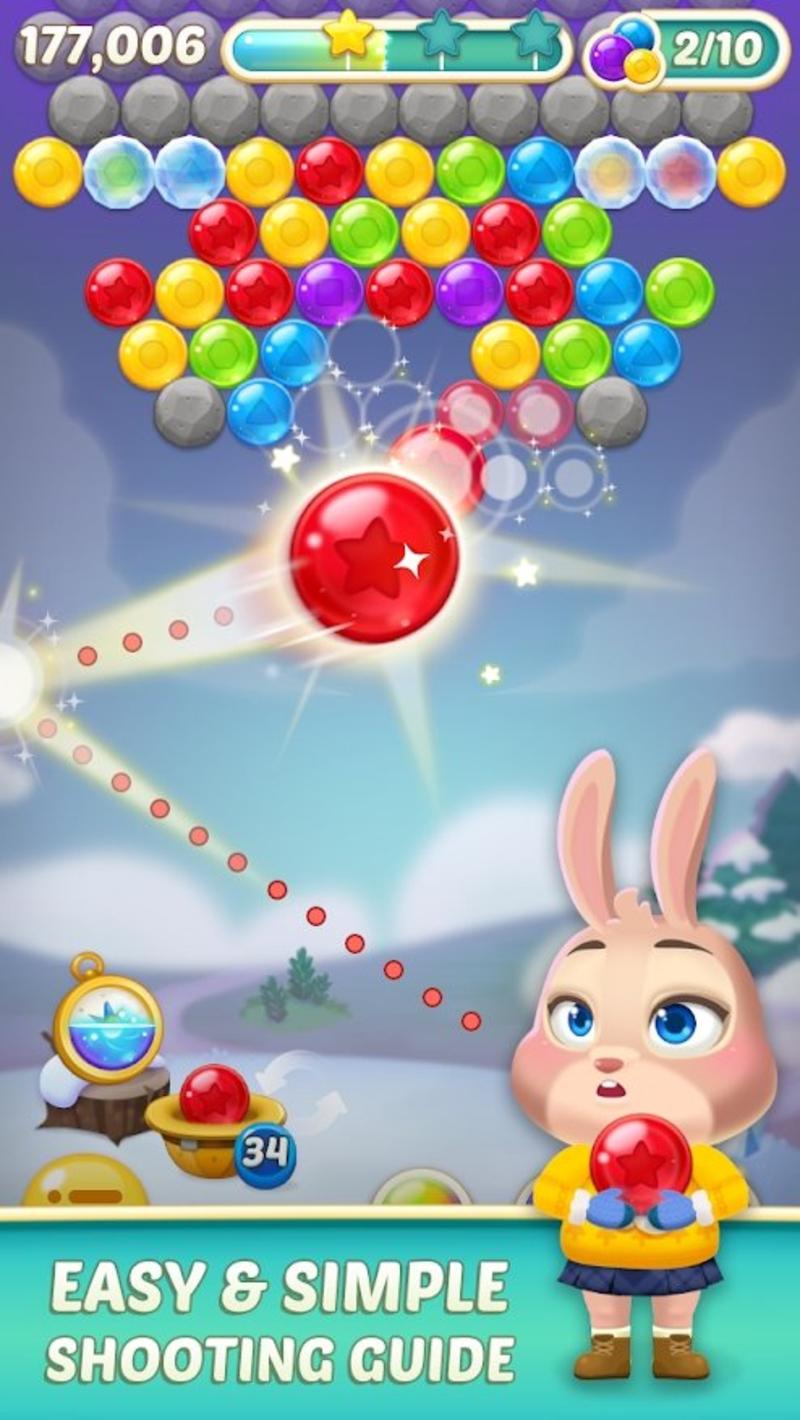 兔子泡泡龙2安卓版1.3.3截图0