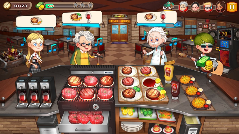 烹饪冒险官方版50100截图2