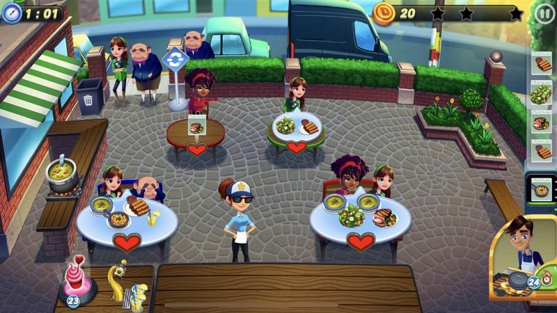 餐车冲刺冒险手游版1.0.2截图0