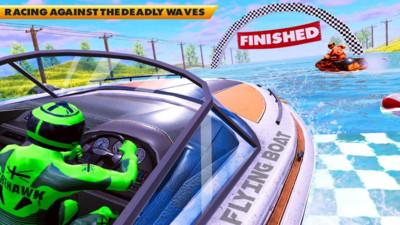 摩托艇速度赛车3D安卓版v1.1截图1