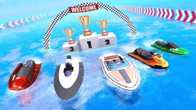 摩托艇速度赛车3D安卓版v1.1截图0