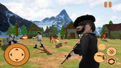迷你牛仔狙击兵3d安卓版v1.0截图1