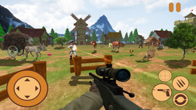 迷你牛仔狙击兵3d安卓版v1.0截图0