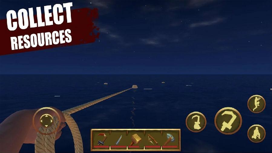 筏上的最后一天海洋生存游戏最新版