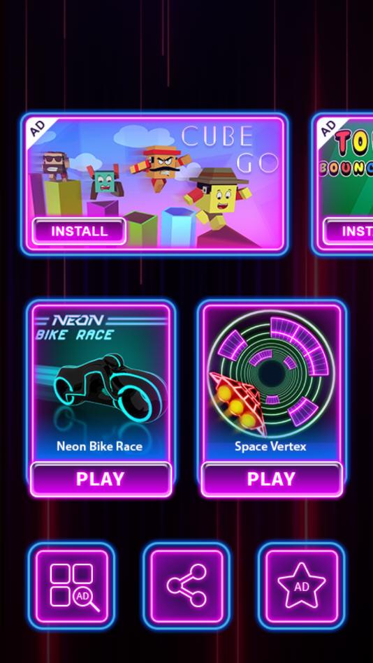 NeonBikeRace官方版1.10截图0