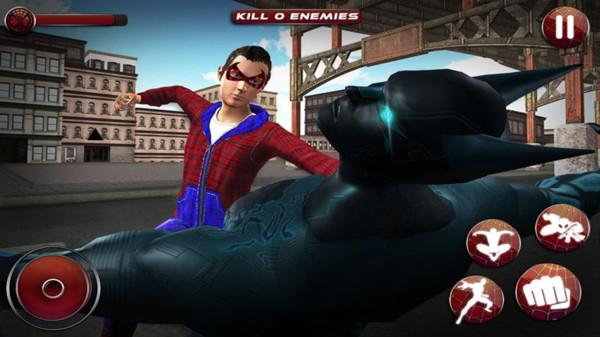 英雄少年蜘蛛侠官方版1.3截图3