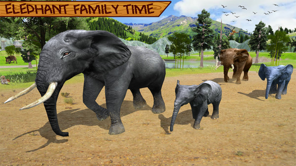 野生大象模拟器游戏v1.0截图1