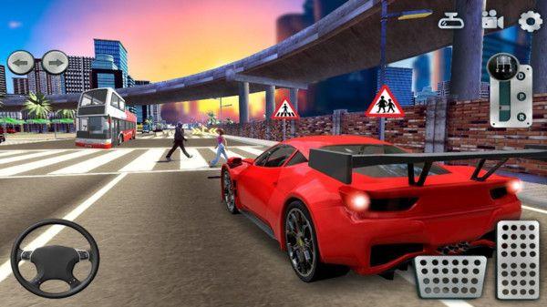 城市停车模拟器游戏2.0截图1