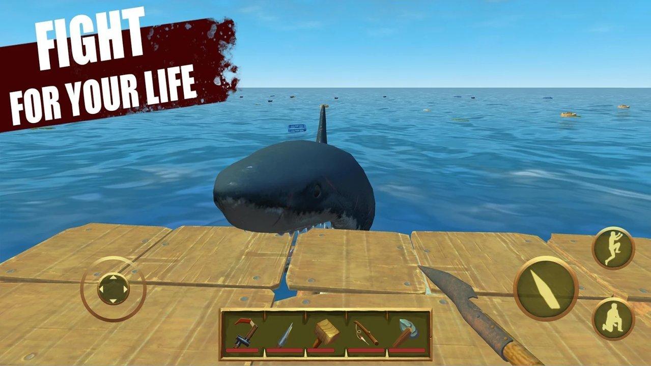 筏上的最后一天海洋生存游戏最新版v0.39.9b截图0