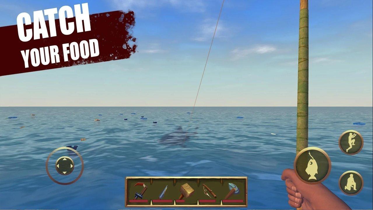 筏上的最后一天海洋生存游戏最新版v0.39.9b截图1