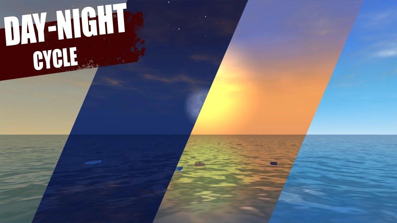 筏上的最后一天海洋生存游戏最新版v0.39.9b截图2
