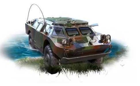 和平精英两栖装甲车刷新点在哪_两栖装甲车在哪里刷