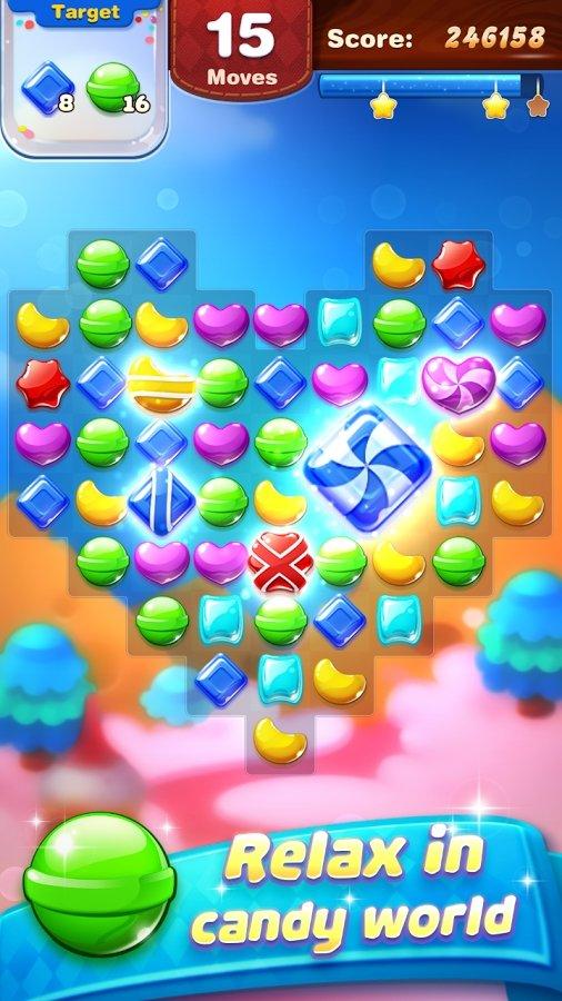 糖果世界-萌萌消安卓版8.80.0000截图0