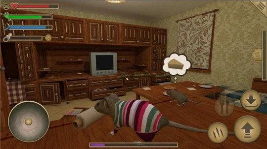 流浪鼠家庭模拟器游戏