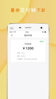 金毛狮王贷款appv1.0截图1