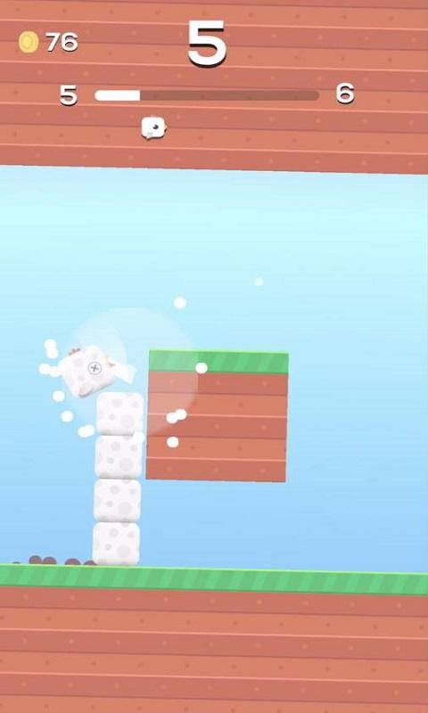 方块小鸟游戏2截图2
