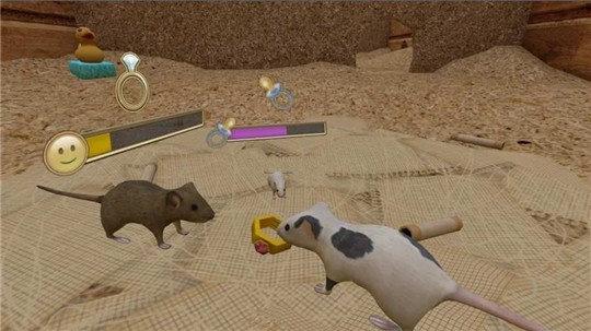 流浪鼠家庭模拟器游戏v1.0截图2