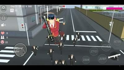 樱花校园模拟器孙悟空服装版更新版v1.037.01安卓版截图0