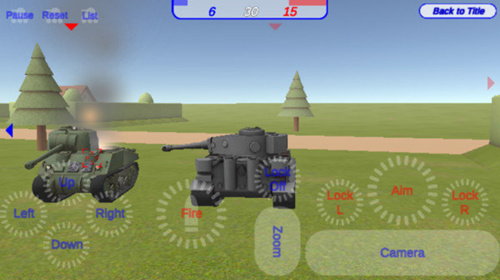 工艺坦克之战手游安卓版1.0官方版截图1