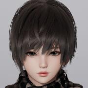 AI少女帅气短发妹子捏脸存档1.0