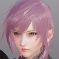 AI少女最终幻想13雷霆发型mod1.1