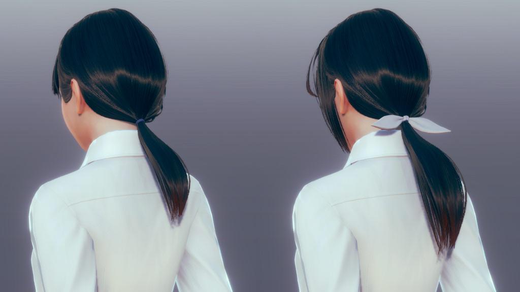AI少女110种发型接片mod1.0截图0