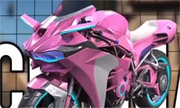 和平精英101摩托车皮肤美化包