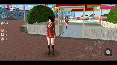 樱花校园模拟器(新服版)1.032.10动物园版截图1